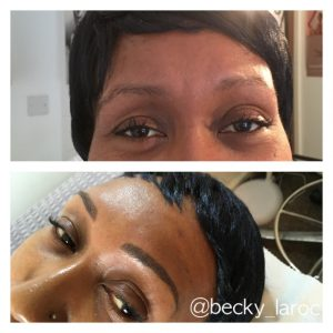 Microbladed Brows Before & After (1)