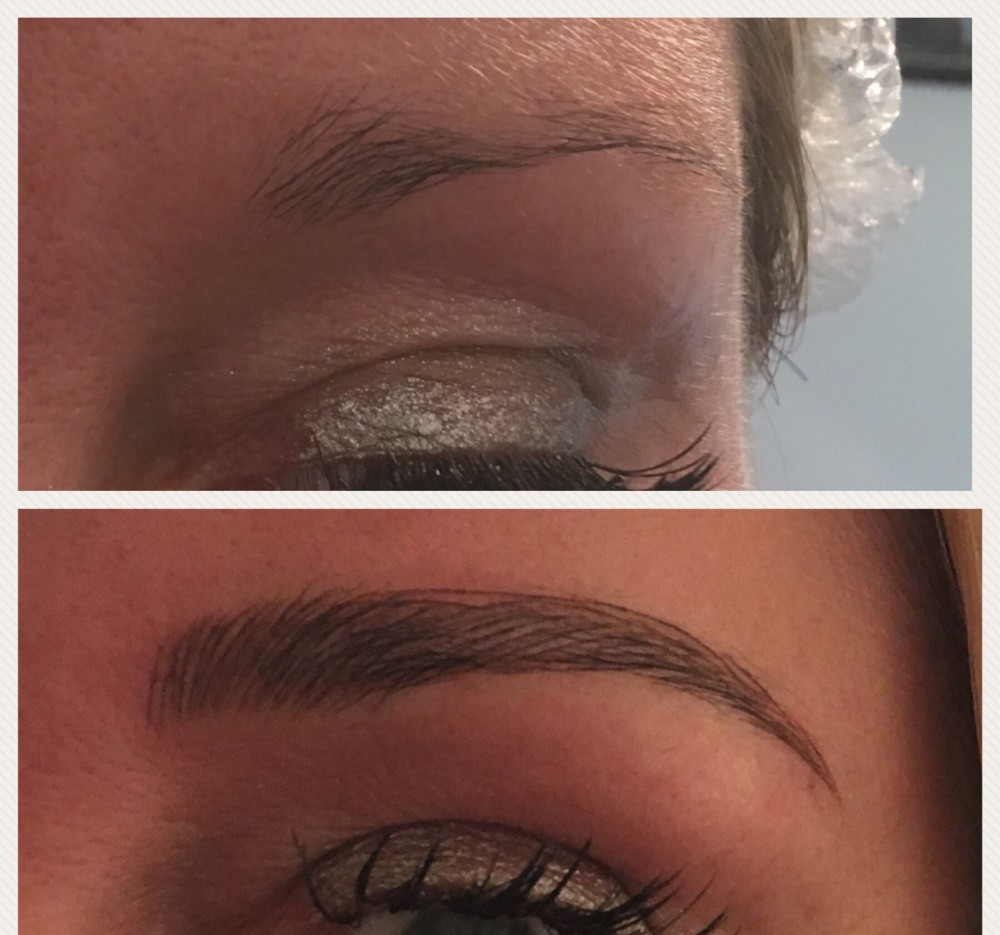 Beauty By Becs, Before After Microblading