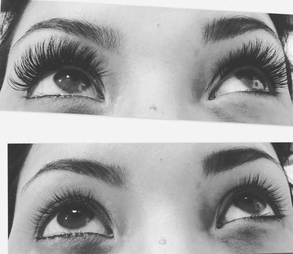 Beauty By Becs, Before After Russian Lashes