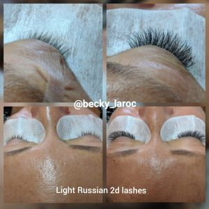 Light russian lashes Bromley