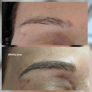 semi permanent makeup brows